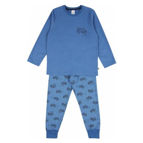 SANETTA Piżama błękitny / atramentowy / podpalany niebieski