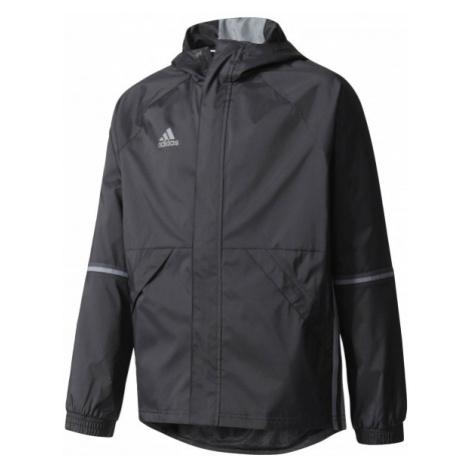 adidas CON16 RAIN czarny 140 - Kurtka sportowa