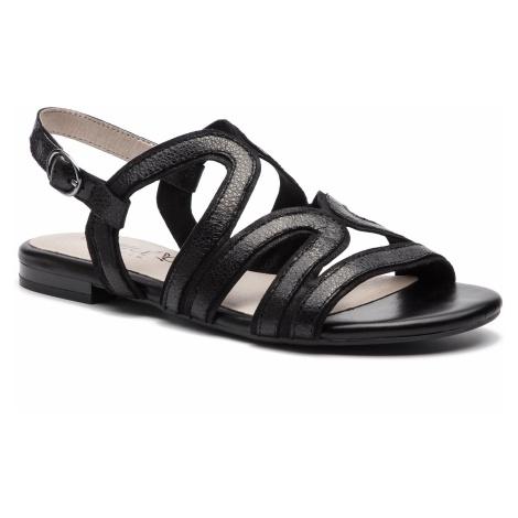 Sandały CAPRICE - 9-28101-22 Black Glitt.Co 090