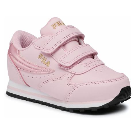 Dziewczęce obuwie sneakersy Fila