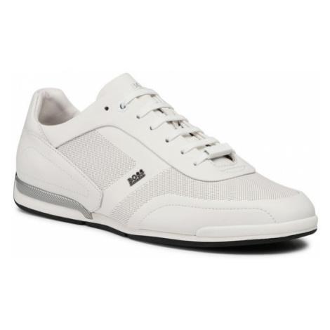Boss Sneakersy Saturn 50452010 10230186 01 Biały Hugo Boss