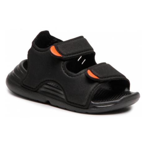 Adidas Sandały Swim Sandal I FY8064 Czarny