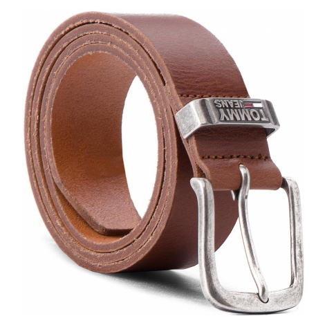 Pasek Męski TOMMY JEANS - Tjm Metal Loop Belt AM0AM03491 90 206 Tommy Hilfiger