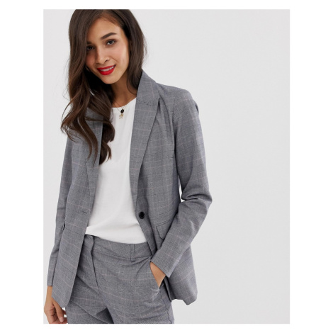 Y.A.S Thesis check co-ord blazer