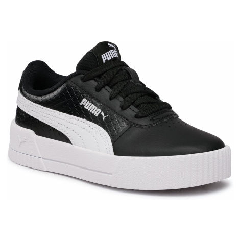 Sneakersy PUMA - Carina Snake Ps 373527 02 Puma Black/Puma White