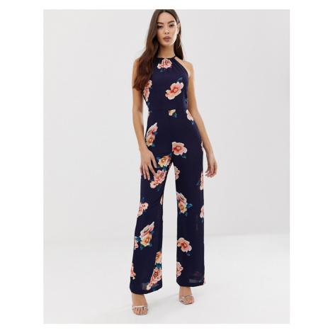 AX Paris floral jumpsuit