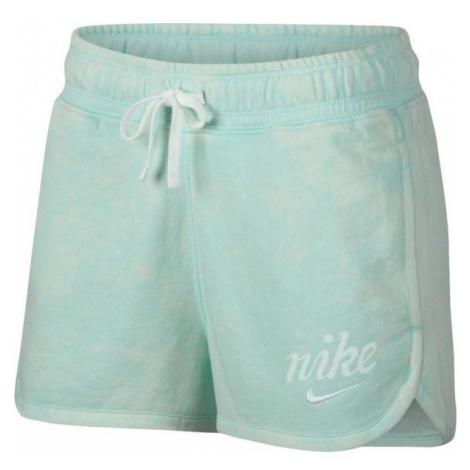 Nike NSW SHORT WSH niebieski L - Spodenki damskie
