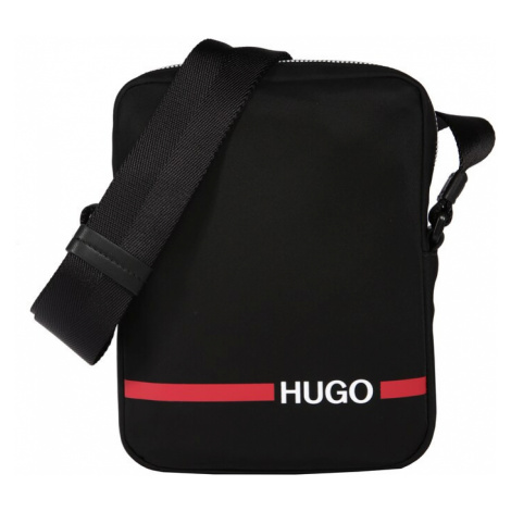 HUGO Torba na ramię 'Record RL_NS zip' czarny Hugo Boss