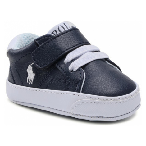 Polo Ralph Lauren Sneakersy Theron IV Ps RL100567 Granatowy
