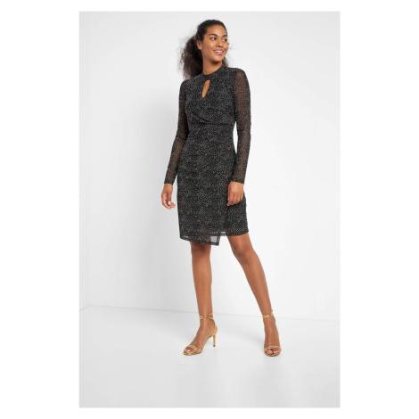 Ołówkowa sukienka w groszki Orsay