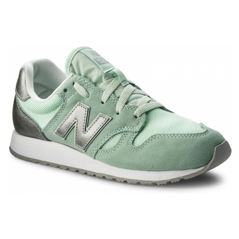 Sneakersy NEW BALANCE - WL520SNB Zielony