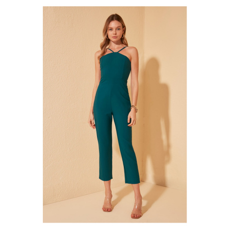 Trendyol Oil Hanger Detailed Jumpsuit