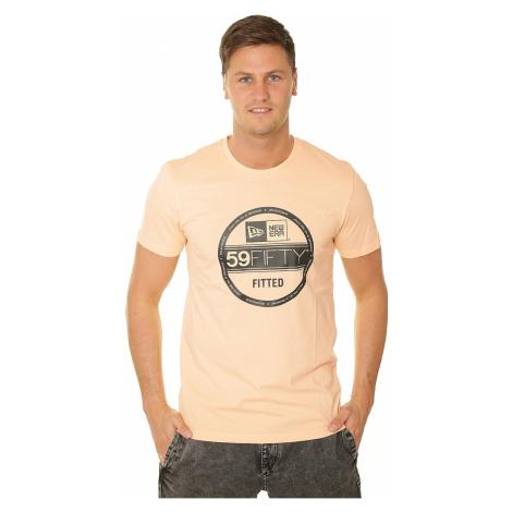 T-shirt New Era Essential Visor Sticker - Peach