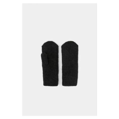 Rękawiczki Pieces Cindy z domieszką wełny