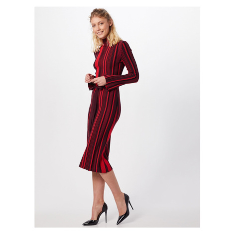 HUGO Sukienka 'Stormin' czerwony / czarny Hugo Boss