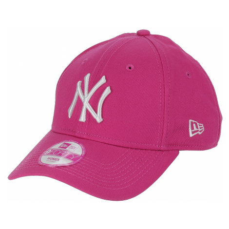 czapka z daszkiem New Era 9FO Fashion Essential MLB New York Yankees - Pink/White