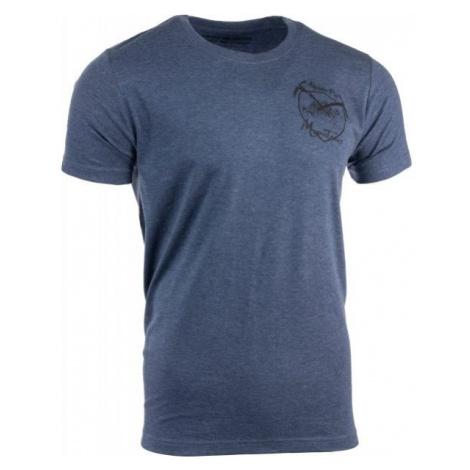 ALPINE PRO UMBERT ciemnoniebieski XL - Koszulka męska