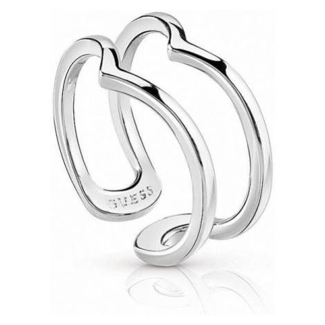 Guess Efektywny podwójny pierścień Obręcze Zrobiłem to ponownie UBR84008 (obwód 54 mm)