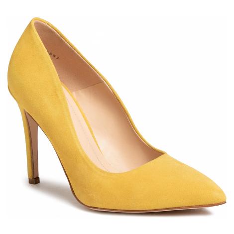 Szpilki SOLO FEMME - 34201-A8-G22/000-04-00 Żółty