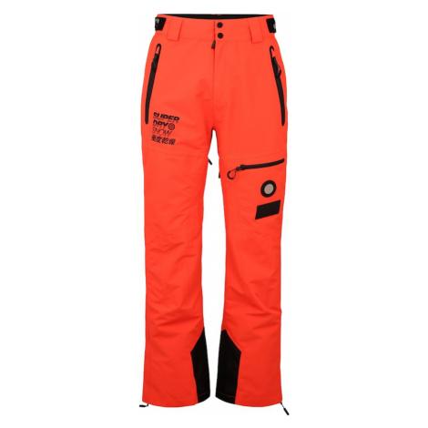 Superdry Snow Spodnie sportowe 'PRO RACER RESCUE' czarny / pomarańczowy