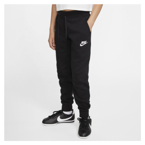 Spodnie dla dużych dzieci (dziewcząt) Nike Sportswear - Czerń