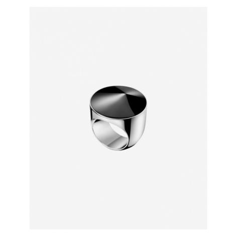 Calvin Klein Empower Pierścień Czarny Srebrny