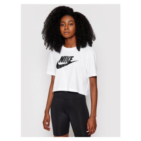 Nike T-Shirt Sportswear Essential BV6175 Biały Loose Fit