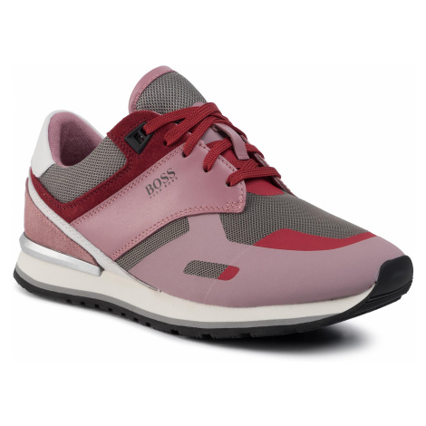 Sneakersy BOSS - Nina 50424865 10224328 01 Light/Pastel Pink 685 Hugo Boss
