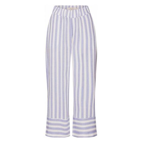 Cream Spodnie fioletowy / biały