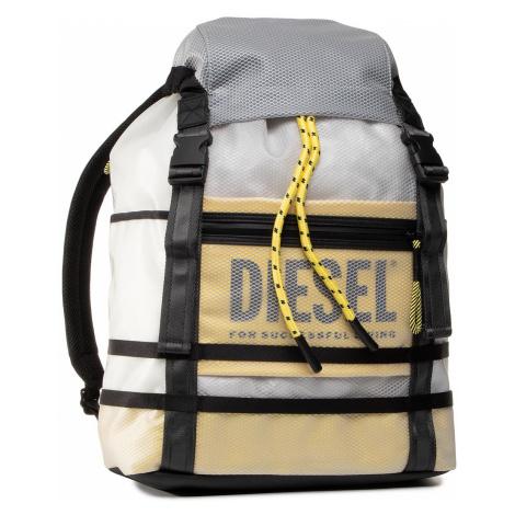 Plecak DIESEL - X06625 P3196 Transparent/Vibrant Yellow P3196