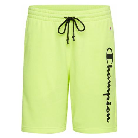 Champion Authentic Athletic Apparel Spodnie neonowa zieleń