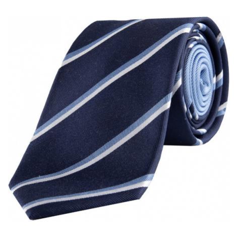 Tommy Hilfiger Tailored Krawat Stripe TT0TT06662 Granatowy