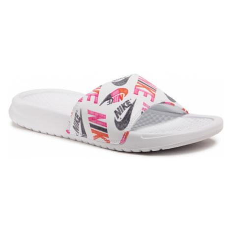 Nike Klapki Benassi Jdi Print 618919 119 Biały