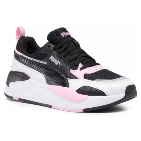 Sneakersy PUMA - X-Ray 2 Square Jr 374190 03 Black/Black/Pink/Silver