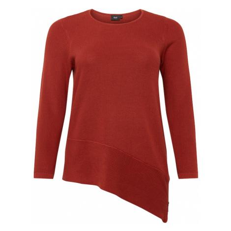 Zizzi Sweter czerwony