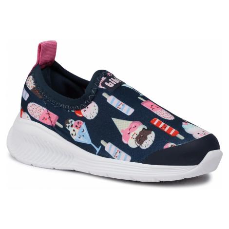 Sneakersy BIBI - Fly Baby 1136052 Print/Naval/Rose