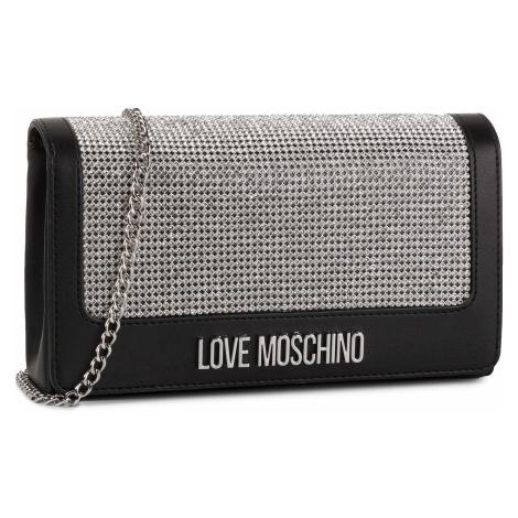 Torebka LOVE MOSCHINO - JC4055PP1ALH100B Nero/Cristal Argento