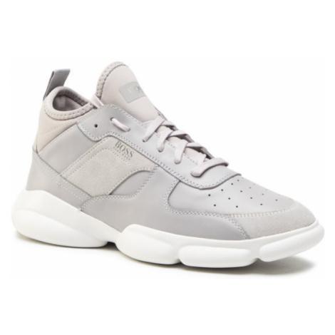 Boss Sneakersy Rapid 50440683 10214520 01 Szary Hugo Boss