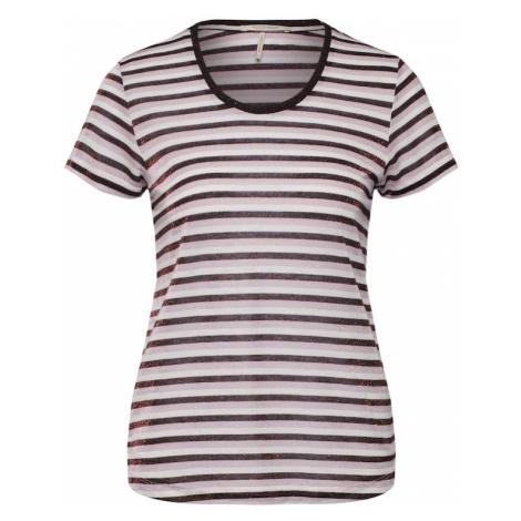 SCOTCH & SODA Koszulka lawenda / burgund / biały