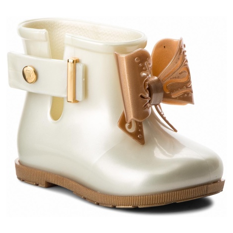 Kalosze MELISSA - Mini Melissa Sugar Rain Bb 32388 White/Gold 53310