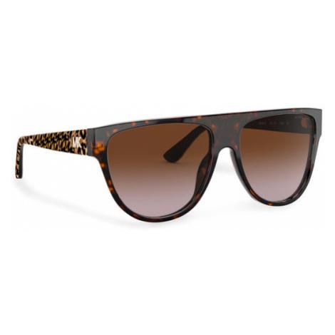 Michael Kors Okulary przeciwsłoneczne Barrow 0MK2111 300613 Brązowy