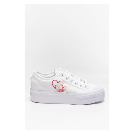 Buty adidas Sneakersy Nizza Platform W Fx9179 White