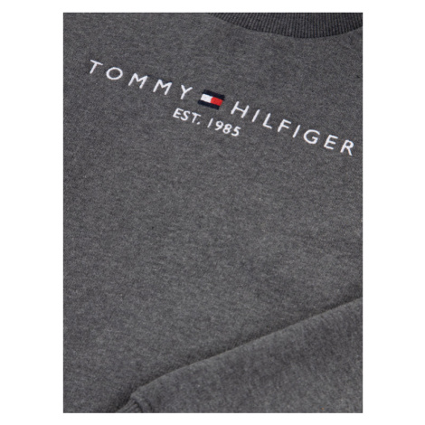 TOMMY HILFIGER Bluza Essential Cn KB0KB05056 D Szary Regular Fit
