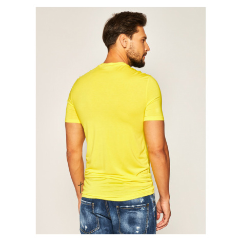 Dsquared2 Underwear T-Shirt D9M203060 Żółty Regular Fit