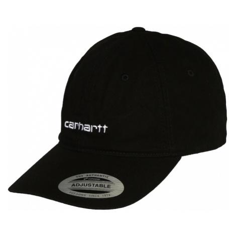 Carhartt WIP Czapka z daszkiem 'Coach' biały / czarny