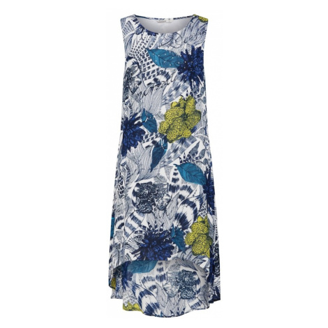 Desigual Sukienka 'Vest_Iowas' ciemny niebieski / biały
