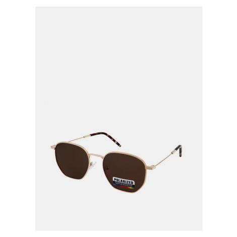 Crullé Gold Sunglasses