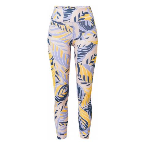 NIKE Spodnie sportowe 'One' jasnoniebieski / biały / ciemnożółty