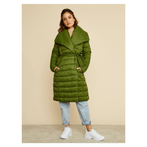 ZOOT zielony płaszcz zimowy Trisha