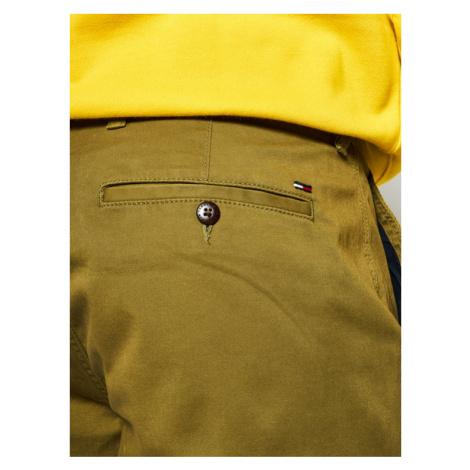 Tommy Jeans Szorty materiałowe Essential DM0DM05444 Zielony Slim Fit Tommy Hilfiger